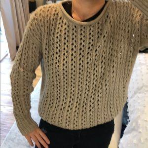 Halston Heritage tan/beige sweater